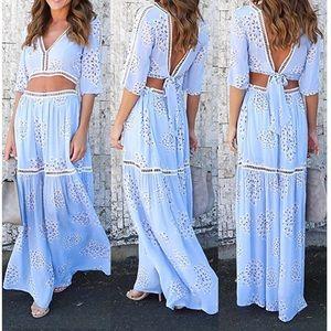 Dresses & Skirts - 💧 Boho Co-Ord Maxy Maxy Skirt Set 💧